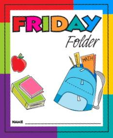 Other Class Info Image for Friday Folders